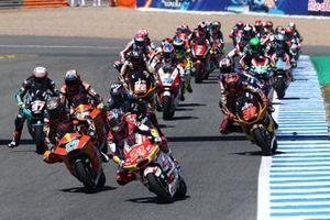 Fabio di Giannantonio, Federal Oil Gresini Moto2 leads