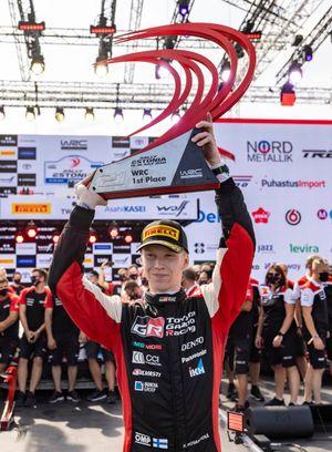 Podium: Kalle Rovanperä, Toyota Gazoo Racing WRT