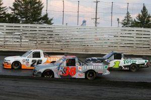 Tyler Ankrum, GMS Racing, Chevrolet Silverado LiUNA!, Todd Gilliland, Front Row Motorsports, Ford F-150 Frontline Enterprises INC., Hailie Deegan, Team DGR, Ford F-150 Toter / Engine Ice