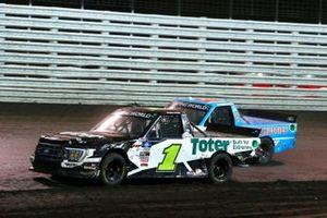 Hailie Deegan, Team DGR, Ford F-150 Toter / Engine Ice, Chase Purdy, GMS Racing, Chevrolet Silverado BamaBuggies.com