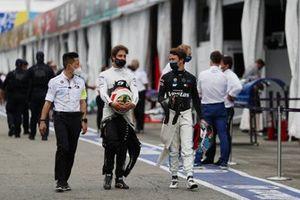 Antonio Felix Da Costa, DS Techeetah, Nyck de Vries, Mercedes-Benz EQ, EQ Silver Arrow 02