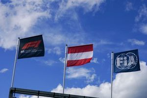 Vlaggen op de Red Bull Ring