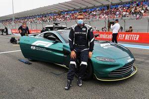 Bernd Maylander, de bestuurder van de safety car