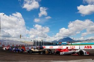 Sergio Sette Camara, Dragon Penske Autosport, Penske EV-5, Antonio Felix da Costa, DS Techeetah, DS E-Tense FE21, Robin Frijns, Envision Virgin Racing, Audi e-tron FE07
