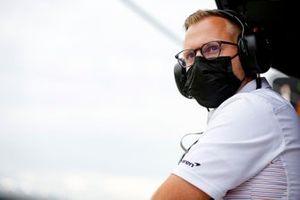 Patricio O'Ward, Arrow McLaren SP Chevrolet engineer