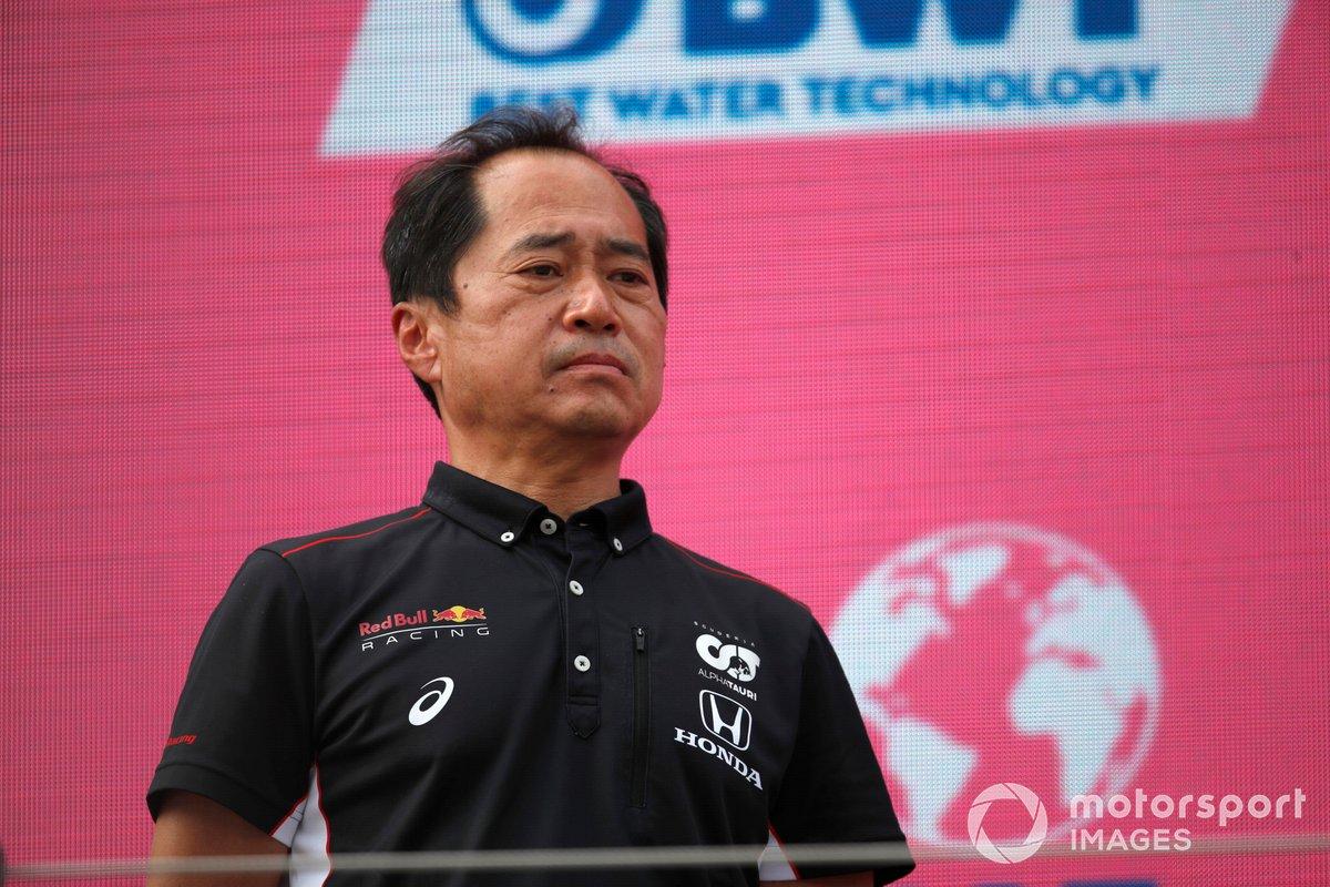 Podio: Toyoharu Tanabe, Director técnico F1 Honda