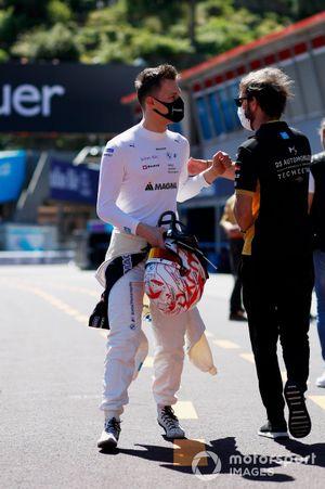 Maximilian Gunther, BMW i Andretti Motorsport, Jean-Eric Vergne, DS Techeetah