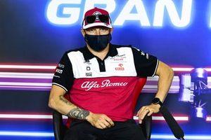 Kimi Raikkonen, Alfa Romeo Racing in the Press Conference