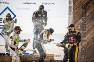 Ocean prix podium celebrations