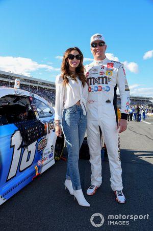 Kyle Busch, Joe Gibbs Racing, Toyota Camry M&M's Red, White & Blue