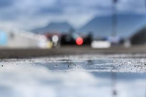 Puddle on track