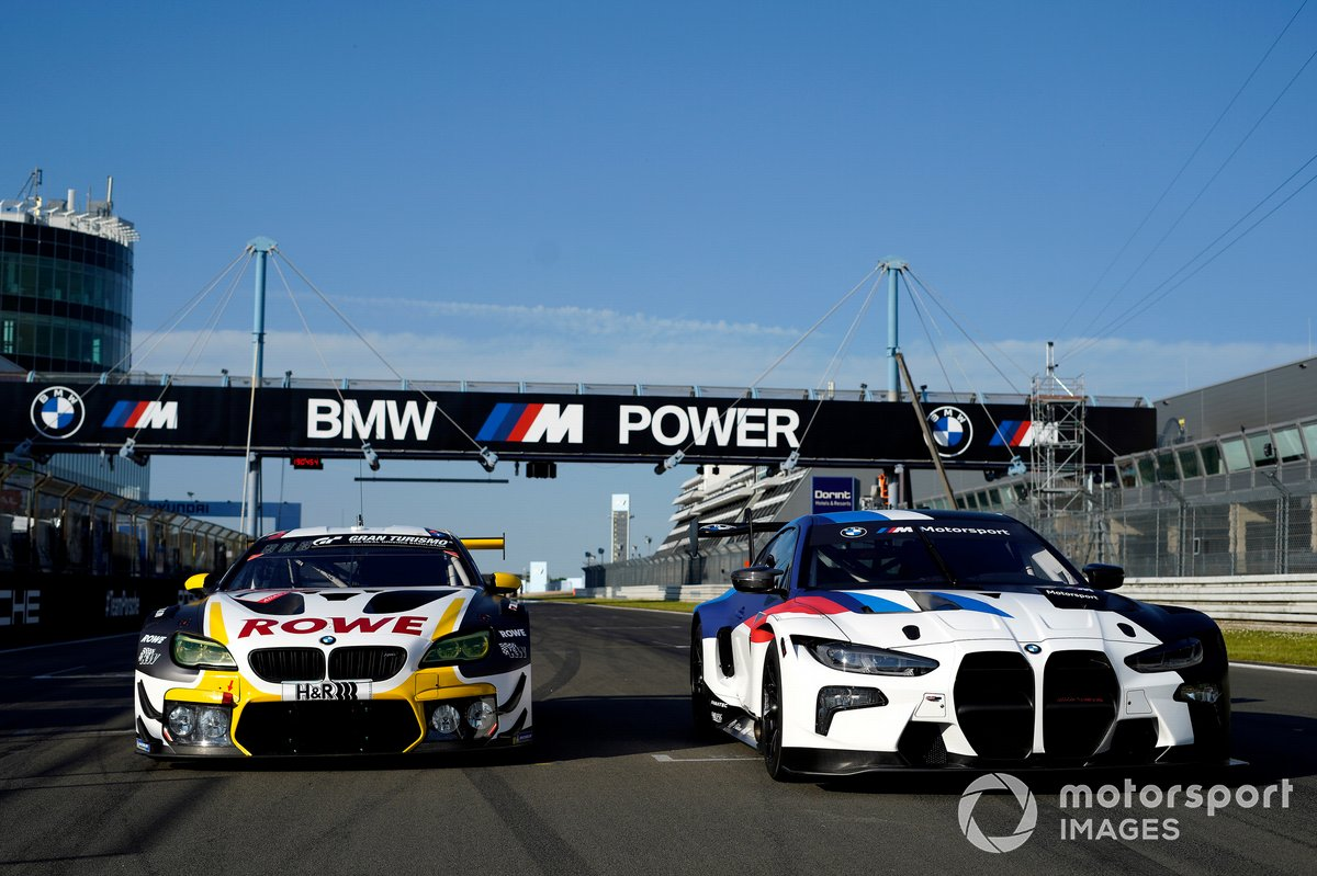 #1 ROWE Racing BMW M6 GT3: Nick Catsburg, John Edwards, Philipp Eng, Nick Yelloly e BMW M4 GT3