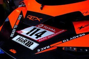 #114 True Racing KTM X-BOW GTX: Reinhard Kofler, Johannes Stuck, Ferdinand Stuck