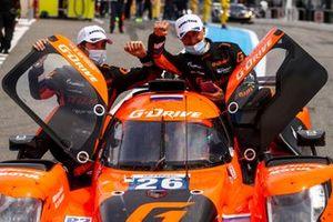 Winners #26 G-Drive Racing Aurus 01 - Gibson: Roman Rusinov, Franco Colapinto, Nyck De Vries