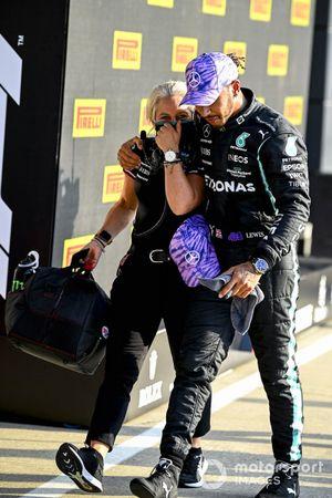 Poleman Lewis Hamilton, Mercedes, Angela Cullen