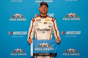 L'auteur de la pole position Tyler Reddick, Richard Childress Racing, Chevrolet Camaro Cheddar's Scratch Kitchen