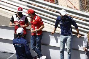 Antonio Giovinazzi, Alfa Romeo Racing Charles Leclerc, Ferrari George Russell, Williams FW43B