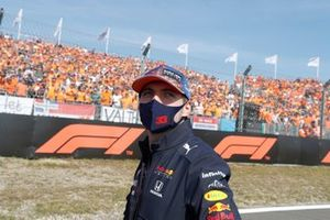 Max Verstappen, Red Bull Racing RB16B Driver's parade