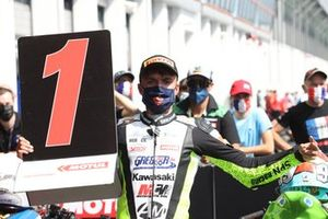 SSP300 race 1 winner Adrian Huertas