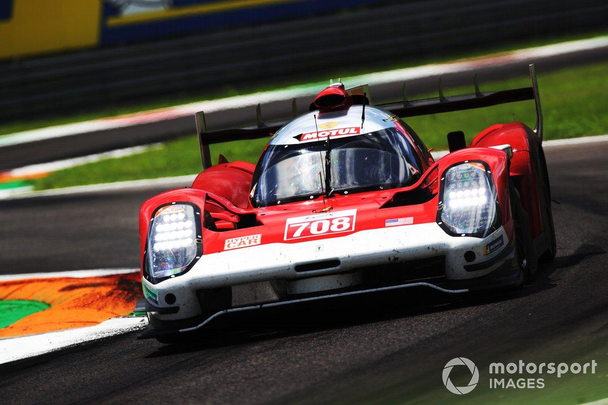 #708 Glickenhaus Racing Glickenhaus 007 LMH: Luis Felipe Derani, Gustavo Menezes, Olivier Pal
