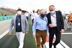 Jean Todt, voorzitter, FIA, en Stefano Domenicali, CEO, Formule 1