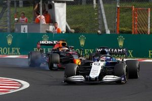 George Russell, Williams FW43B, Max Verstappen, Red Bull Racing RB16B