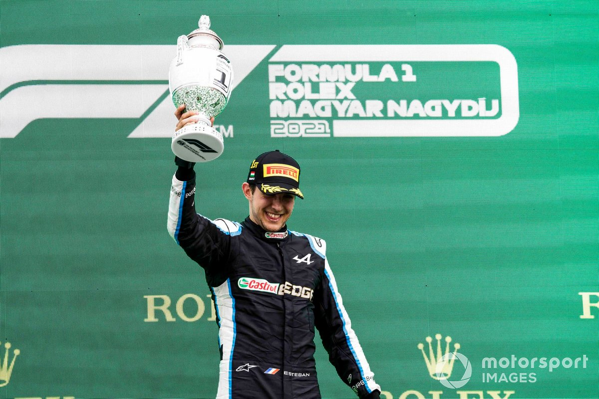 Esteban Ocon - 1 victoria