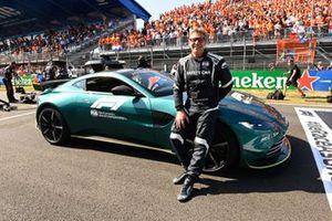 Bernd Maylander, Safety Car Driver, and Aston Martin Vantage