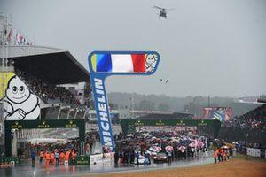 De startgrid voor de 24 uur van Le Mans