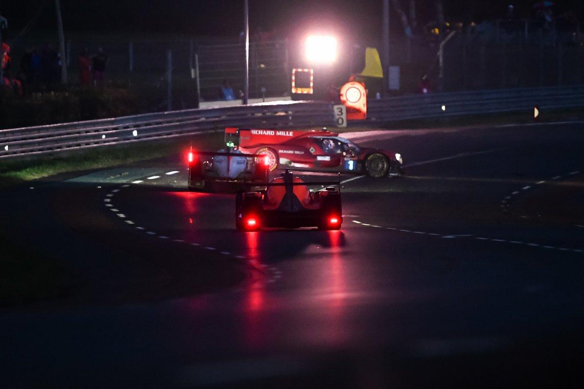Accidente: #1 Richard Mille Racing Team Oreca 07 - Gibson LMP2, Tatiana Calderon, Sophia Florsch, Beitske Visser, #74 Racing Team India Eurasia Ligier JSP217 - Gibson LMP2, James Winslow, John Corbett, Tom Cloet