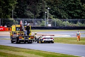 Timo Glock, ROWE Racing, BMW M6 GT3 stops on track