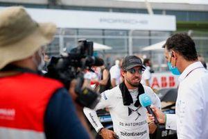 Antonio Felix Da Costa, DS Techeetah, is interviewed on the grid