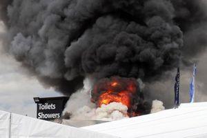 Snetterton fire