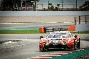 #33 Rinaldi Racing Ferrari 488 GT3: David Perel, Benjamin Hites, Fabrizio Crestani