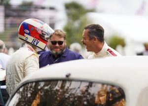 Jean-Eric Vergne et Andre Lotterer avant les essais