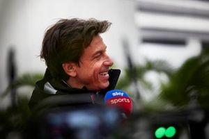 Toto Wolff, team principal et PDG, Mercedes AMG