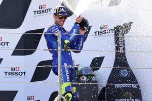 Podio: tercer lugar Joan Mir, Team Suzuki MotoGP