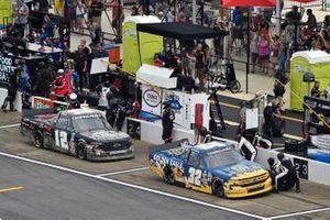 Bret Holmes, Bret Holmes Racing, Chevrolet Silverado GOLDEN EAGLE, Tate Fogleman, Young's Motorsports, Chevrolet Silverado Traeger Grills