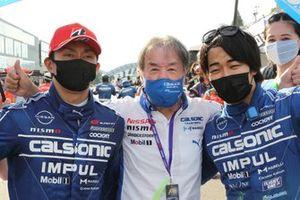 Kazuki Hiramine, Kazuyoshi Hoshino, Nobuharu Matsushita, #12 カルソニック IMPUL GT-R