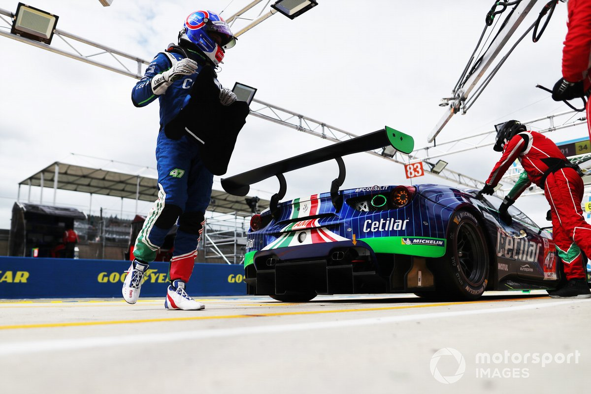 #47 Cetilar Racing Ferrari 488 GTE EVO LMGTE Am,, Giorgio Sernagiotto