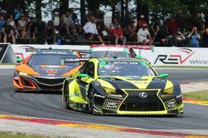 #12 Vasser Sullivan Lexus RC F GT3, GTD: Frankie Montecalvo, Zach Veach