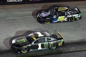Kurt Busch, Chip Ganassi Racing, Chevrolet Camaro Monster Energy, James Davison, Rick Ware Racing, Chevrolet Camaro
