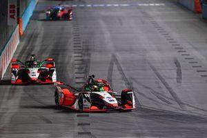 Lucas Di Grassi, Audi Sport ABT Schaeffler, Audi e-tron FE07 , Rene Rast, Audi Sport ABT Schaeffler, Audi e-tron FE07