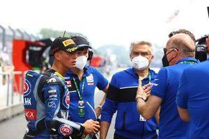 Andrea Locatelli, PATA Yamaha WorldSBK Team, Andrea Dosoli, Yamaha Europe Manager