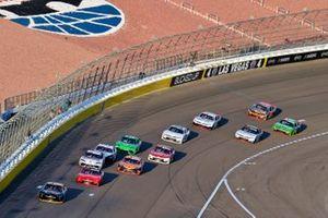 Ty Dillon, Jordan Anderson Racing, Chevrolet Camaro South Point Hotel & Casino and Justin Allgaier, JR Motorsports, Chevrolet Camaro BRANDT