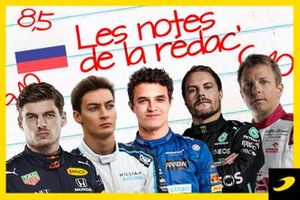 Les notes de la rédaction, Grand Prix de Russie