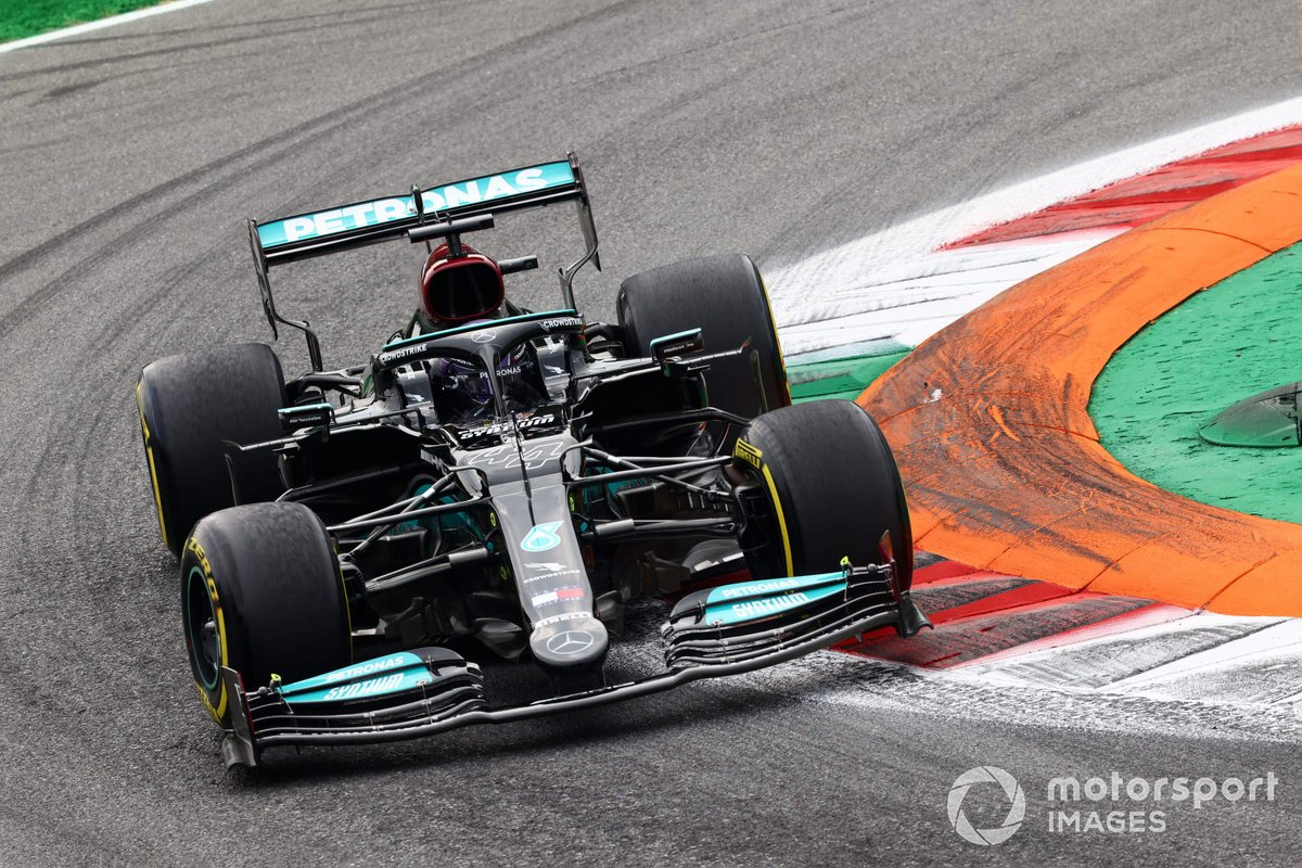 Lewis Hamilton, Mercedes W12