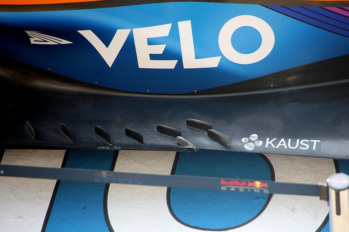 McLaren MCL35M: Unterboden