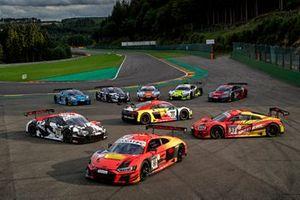 Toutes les voitures des clients d'Audi Sport