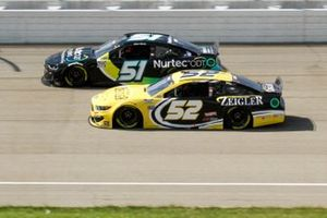 Cody Ware, Petty Ware Racing, Chevrolet Camaro Nurtec ODT, Josh Bilicki, Rick Ware Racing, Ford Mustang Zeigler Auto Group